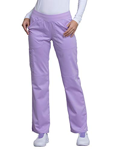 - Cherokee WW Revolution WW110 Mid Rise Pull-On Cargo Pant Oh So Orchid M Petite