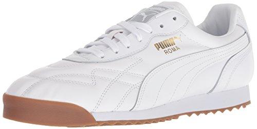 (PUMA Men's Roma Anniversario Sneaker, White, 9.5 M US)