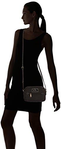Guess Nero Femme Florencia Taille Noir Unique à Zip Top Crossbody Main Sacs HZqPrnH1