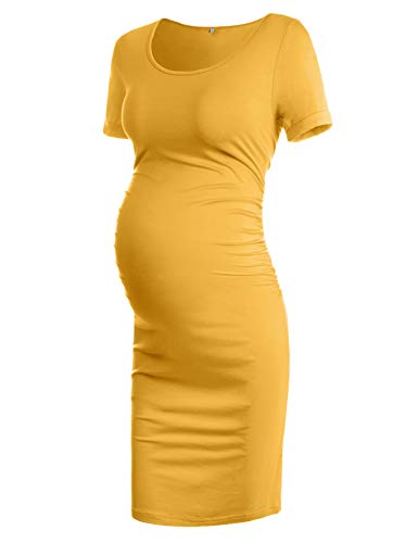 Best Maternity Halloween Costumes (Musidora Maternity Dresses for Special Occasions, Ginger)