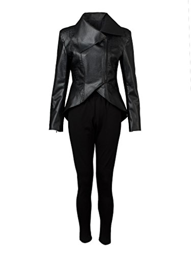 CosFantasy Season 5 Emma Swan Black Coat Cosplay Costume Only Jacket mp003080 (US-M) -