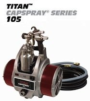 105 Finishes (Titan Capspray 105 Fine-Finish HVLP Paint Sprayer)