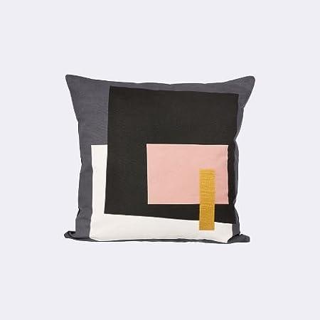 Ferm Living Fragment Cushion 50 x 50cm - Grey: Amazon.es: Hogar
