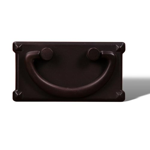 International Pulls Rk Bronze (Rk International - Rki Rectangular Plated Bail Pull (Rkicf5260Rb)-Oil Rubbed Bronze)