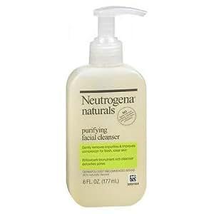 Neutrogena Naturals Purifying Facial Cleanser, 6 Fz (Pack Of 3)