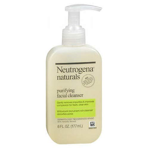 Neutrogena Naturals Purifying Facial Cleanser, 6 FZ (Pack of 3)