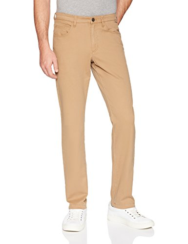 (Goodthreads Men's Slim-Fit 5-Pocket Chino Pant, Khaki, 36W x 36L )
