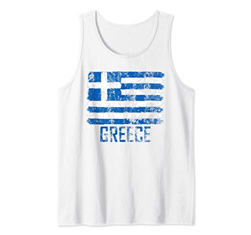 Greece Flag Fan Greek Soccer Sports Jersey Basketball  Tank Top