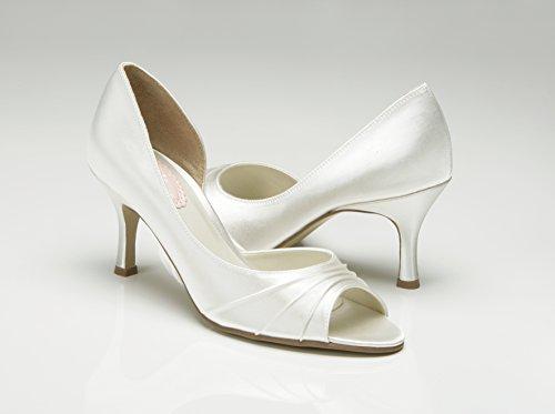 Pink Paradox London Sherbert Wedding Shoes Ivory txQJCLX0N