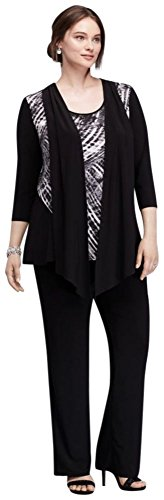 jersey-plus-size-patterned-pantsuit-with-built-in-scarf-style-9903w-black-24w