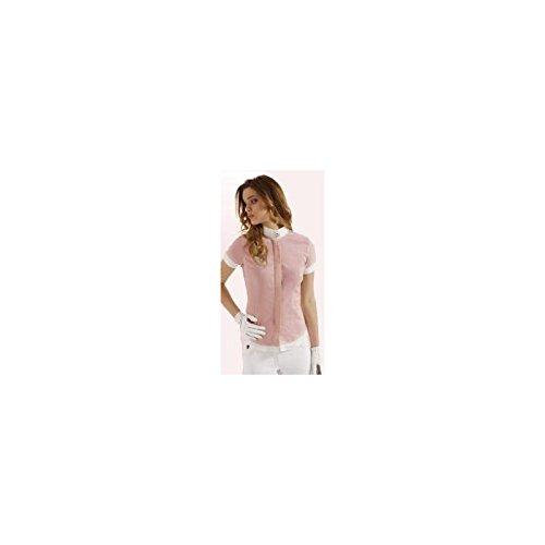 Camicia Strass Tattini rosa Pallido S