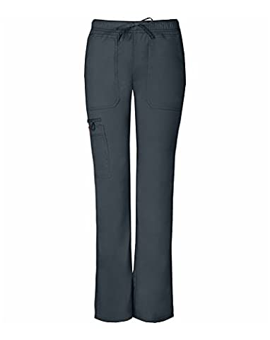 Gen Flex By Dickies Women's Low Rise Straight Leg Scrub Pant X-Large Tall Light Pewter - Dickies Tall Pants