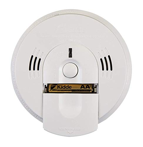 Kidde 21026043 Battery-Operated(Not Hardwired) Combination Smoke/Carbon Monoxide Alarm with Voice Warning KN-COSM-BA, 3 Pack