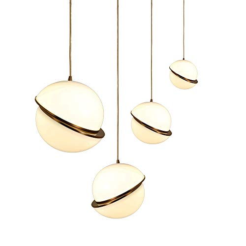 - Pasargad Home PLH4291-400 Saturn Pendant Light, White