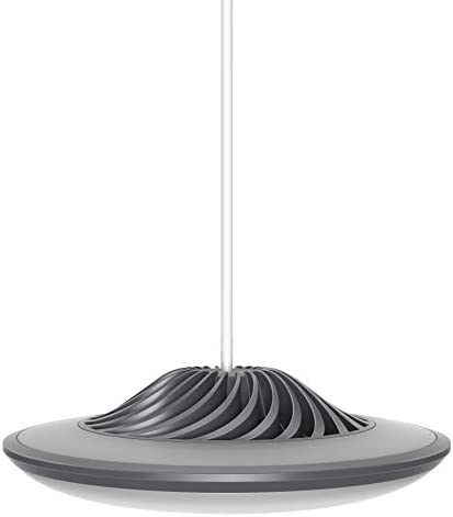 Luke Roberts Model F Gray – Smart LED Pendant Lamp with App Control, Bluetooth, indirect Light, 16 Mio. RGBWW Colors, Amazon Alexa Skill Perfect for Any Smart Home