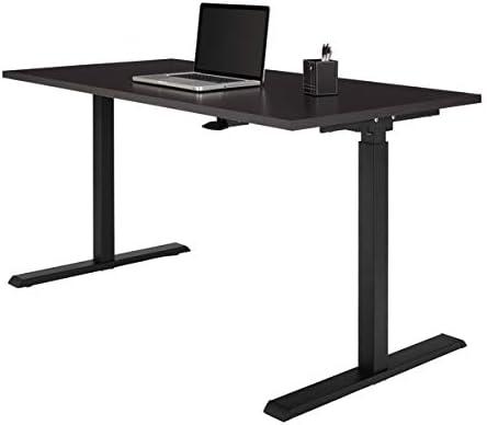 Realspace Magellan 60″W Pneumatic Height-Adjustable Standing Desk
