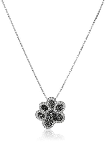 Black & White Diamond Pendant - 1