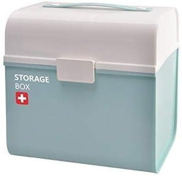 メディカルボックス、医学ストレージ応急処置コンテナMultifunctiona主催、ホーム、旅行、キャンプ、オフィスやザ・職場DABEABのために十分な大きさ(カラー:ピンク) 救急箱 (Color : Blue, Size : -)