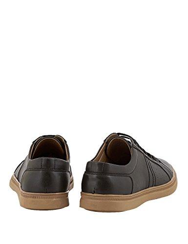 Size UK Men 8 Black in Sneakers LEVON qwfIPSI