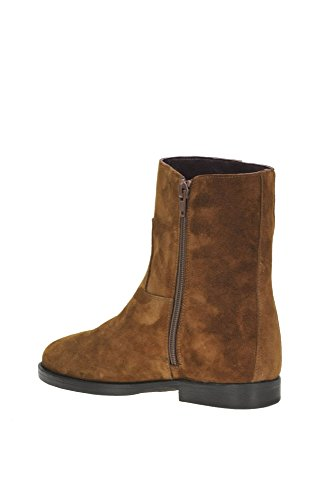 ALTO GRADIMENTO Women's MCGLCAS04023I Brown Suede Ankle Boots i1R8kN