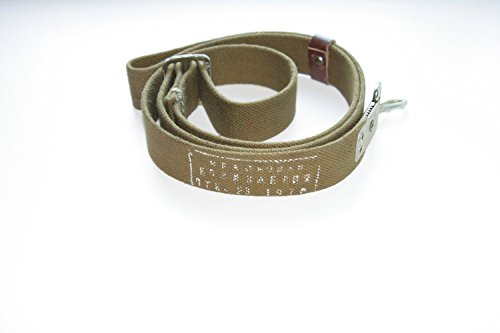 AK 47//74 AKS AKMS AKM RPK canvas Sling For Kalashnikov rifle and other Made in USSR Soviet Russian Army Standard sling With vintage factory Stamp