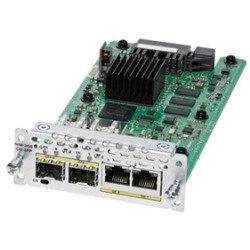 Cisco NIM-1GE-CU-SFP= 1 Port Ge WAN Nim Dual-Mode RJ45 & SFP Module by Cisco