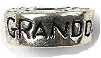 Liberty Charms Silver Plated Grand-Daughter Round Will Fit Most Charm Bracelets