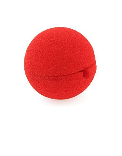 Appropriative Costume - Distinct® 1 PC Magic Sponge Ball Red Clown Nose for Halloween party Masquerade Decoration