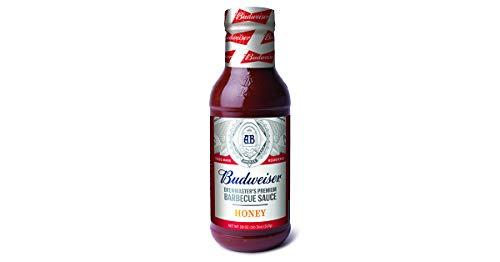 Budweiser BBQ Sauce, Honey, 18-Ounce (Pack of 6)