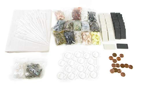 American Educational Many Mini Minerals Classroom ID Kit