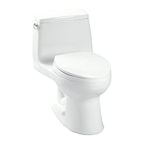 Toton|#Toto K-MS854114#01 Toto Ultimate One-Piece 1.6 Gpf Elongated Toilet with Slowclose Seat, Cotton,