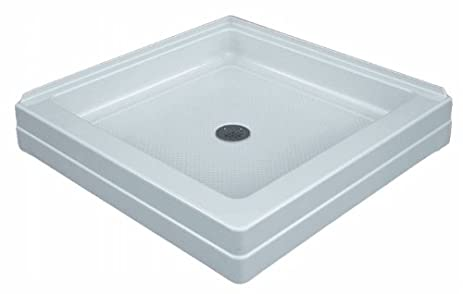 ASB 420630 32-Inch by 32-Inch Corner Entry Shower Base, White ...