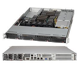 Brand new Supermicro 1U Barebone SuperServer 6018R-WTR with full warranty