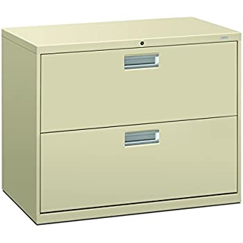Amazon.com : HON682LL - HON 600 Series Two-Drawer Lateral File ...