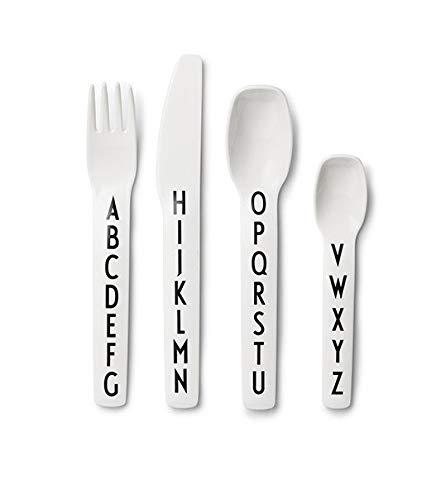 Design Letters - Kids Alphabet Cutlery/Flatware - 4 Pieces ()