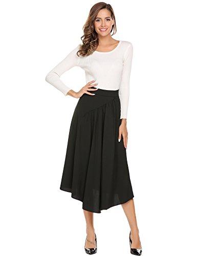 Knee Length Full Skirt - 5