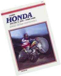 Clymer Manual Honda TRX300Fourtrax 300 88-00