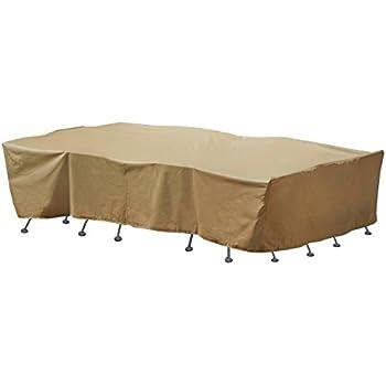 Amazon Com Seasons Sentry Cvp01429 Large Rectangle Table
