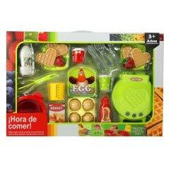 MGI Set Alimentos Divertidos con CREPERA Infantil A Pilas: Amazon.es: Juguetes y juegos
