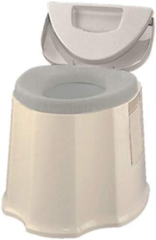 [スポンサー プロダクト]ポータブルトイレ GX ベージュ(防臭消耗品・O型便座カバー付) KPT-GX-01HT