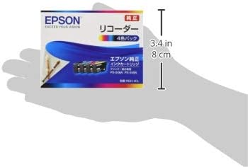 エプソン 純正 インクカートリッジ リコーダー RDH-4CL