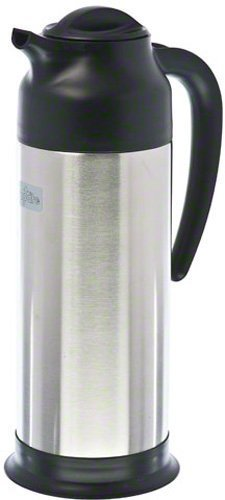 Update International SV-100 Stainless Steel Vacuum Insulated Cream Server, Black, 33-Ounce, Set of 2