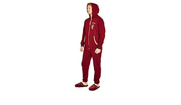 96f024fc1a5 Official Harry Potter Quidditch Onesie Jumpsuit at Amazon Men s Clothing  store