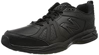 New Balance Men's 624 Cross Training Shoes, Black, 7 US (X-Wide)