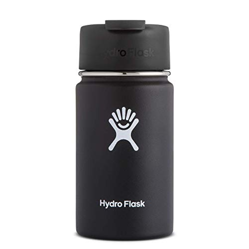 Hydro Flask Travel Coffee Flask – 12 oz, Black