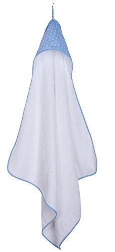 Little Dutch Hooded Towel (Light Blue Star) by Little Dutch by Little Dutch