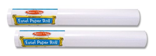 ": Melissa & Doug Easel Paper Roll- 18"" X75' (Set of 2)"