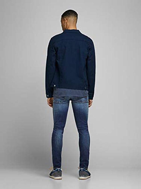 JACK & JONES Male Slim Fit Jeans Glenn original GE 141: Odzież