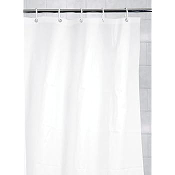 Amazon.com: Kiera Grace Mildew-Free Shower Curtain Liner with ...