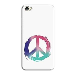 Cover It Up - Pastel Peace Redmi Y1 Lite Hard Case